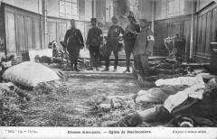 Eglise De Neufmontiers Blesses Allemands - Montiers