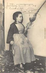 Jeune Fileuse De Locmine - Locminé