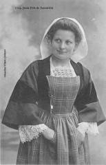 Jeune Fille De Locmine - Locminé