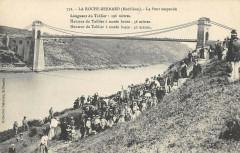 La Roche Bernard Le Pont Suspendu - La Roche-Bernard
