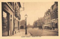 Albert Avenue De La Gare - Albert