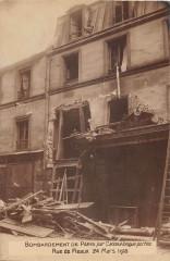 Bombardement de Paris 75 Paris 19e