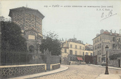 Ancien Réservoir de Montmartre (Rue Lepic) - Paris 18e