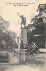 Saint Amans Soult Monument Aux Morts - Saint-Amans-Soult