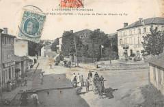 Martres De Veyre Vue Prise Du Pont Du Chemin De Fer - Ris