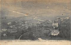 Polminhac Vue Generale Et Chateau De Pestel - Polminhac