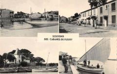 Souvenir Des Cabanes De Fleury - Fleury