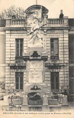 Salles A Ses Enfants Morts Pour La France - Salles