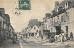 Pontorson L'Hotel De Bretagne Et Grand Rue - Pontorson