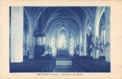 Bethon Interieur De L'Eglise - Bethon