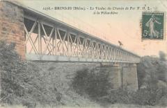 Brindas Le Viaduc Du Chemin De Fer F.O.L.A La Pillardiere - Brindas
