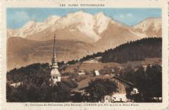 Cordon Et Le Mont Blanc - Cordon