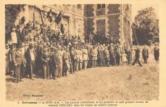 Grivesnes Les Anciens Combattants Et General Debeney - Grivesnes