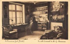 Saint Vincent Sur Jard La Table De Travail De Georges Clemenceau - Saint-Vincent-sur-Jard