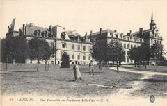 Moulins Vue D'Ensemble Du Pensionnat Belle Vue - Moulins