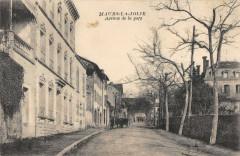 Maurs La Jolie Avenue De La Gare - Maurs
