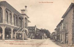 Longages La Nouvelle Halle Et Avenue De La Gare - Longages