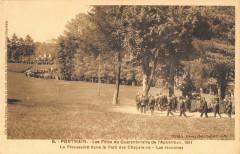 Pontmain Fetes Quarantenaire 1911 Procession Hommes - Pontmain