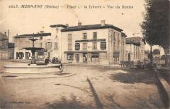 Mornant Place De La Liberte Vue Du Bassin - Mornant