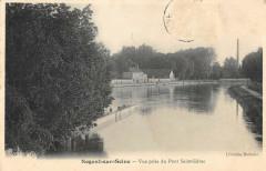 Nogent Sur Seine Vue Prise Du Pont Saint Edme - Nogent-sur-Seine