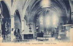 Laroque D'Olmes Interieur Eglise - Laroque-d'Olmes