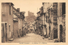 Najac Le Bariou Et Le Chateau - Najac