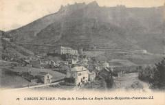La Roque Sainte Marguerite Vue Generale - La Roque-Sainte-Marguerite