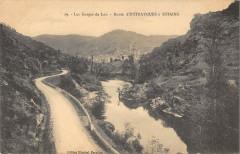 Les Gorges Du Lot Route D'Entraygues A Estaing - Estaing