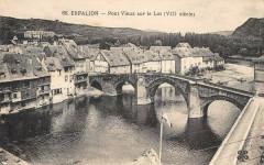 Espalion Pont Vieux Sur Le Lot - Espalion