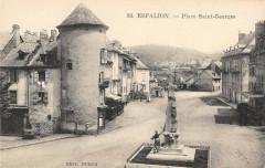 Espalion Place Saint Georges - Espalion