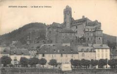 Estaing Le Quai Et Le Chateau - Estaing