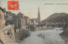 Saint Affrique La Sorgue Et Les Cazes - Saint-Affrique