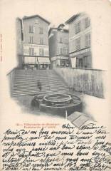 Villefranche De Rouergue Fontaine - Villefranche-de-Rouergue
