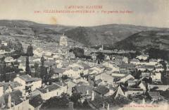 Villefranche De Rouergue Vue Generale Sud Ouest - Villefranche-de-Rouergue