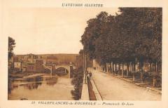 Villefranche De Rouergue Promenade Saint Jean - Villefranche-de-Rouergue