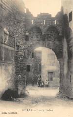 Millas Porte Lades (cpa rare éditeur Candille - Millas