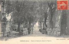 Coursan Route De Narbonne Canal De Raonel - Coursan