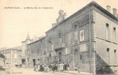 Coursan La Mairie Rue Du 4 Septembre Aude - Coursan