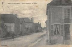 Saint Benoit Sur Vanne La Route Du Planty - Planty