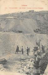 Villaniere Les Mines Carreau Du Filon Terrisse - Villanière