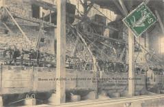 Villaniere Mines De L'Aude Interieur De La Laverie Salle Des Cribles rare - Villanière