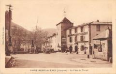 Saint Rome De Tarn Place Du Terrail - Saint-Rome-de-Tarn