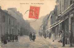 Capdenac Gare Rue De La Republique - Capdenac-Gare