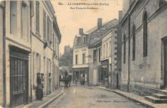 La Chartre Sur Le Loir La Rue Francois Coudreux (cliché pas courant - La Chartre-sur-le-Loir