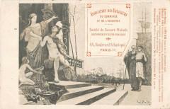 Paris IIIe Association Des Voyageurs Du Commerce Et De L'Industrie Sebast - Paris 3e