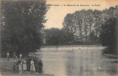 Lenclot Le Deversoir De Courtenot La Seine - Courtenot