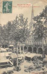 Limoux Le Marche Place De La Republique - Limoux