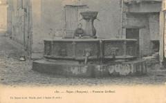 Najac Fontaine Griffoul - Najac