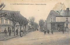 Saint Martin D'Auxigny Route De Quantilly - Quantilly
