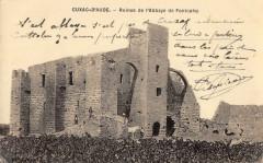 Cuxac D'Aude Ruines De L'Abbaye De Fontcalvy - Cuxac-d'Aude
